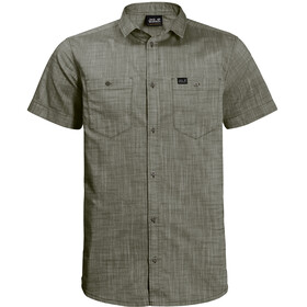Jack Wolfskin Emerald Lake Shirt Men woodland green